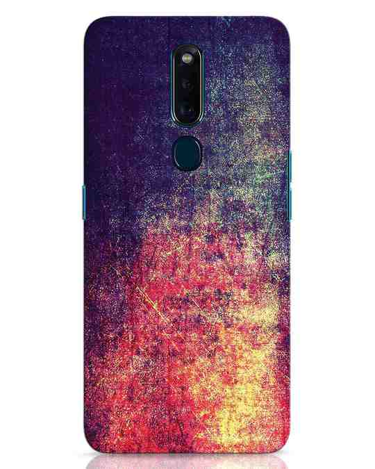 Shop Metal Colors Oppo F11 Pro Mobile Cover-Front
