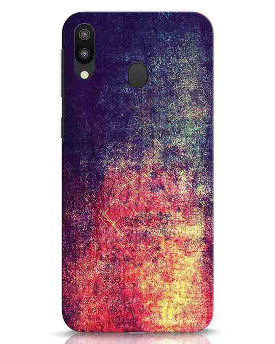 Shop Metal Colors Samsung Galaxy M20 Mobile Cover-Front