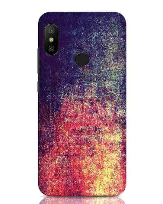 Shop Metal Colors Xiaomi Redmi Note 6 Pro Mobile Cover-Front
