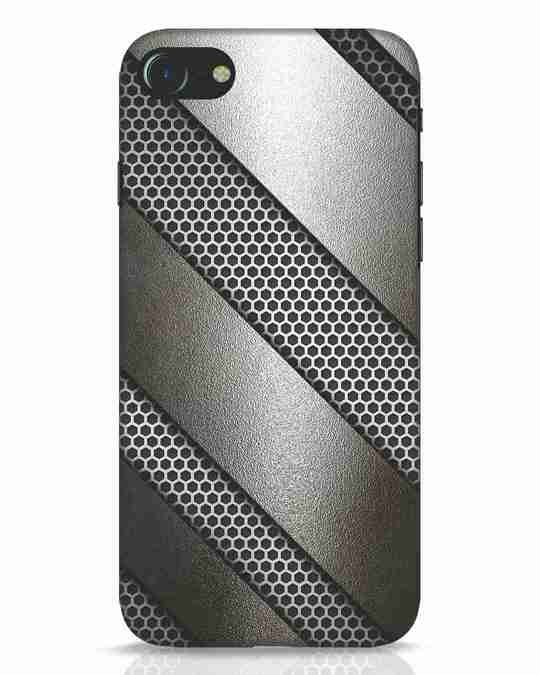 Shop Metal iPhone 7 Mobile Cover-Front