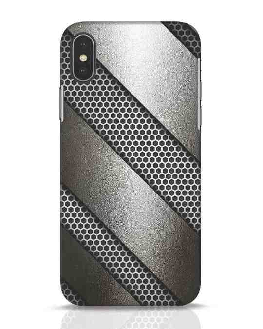 Shop Metal iPhone X Mobile Cover-Front