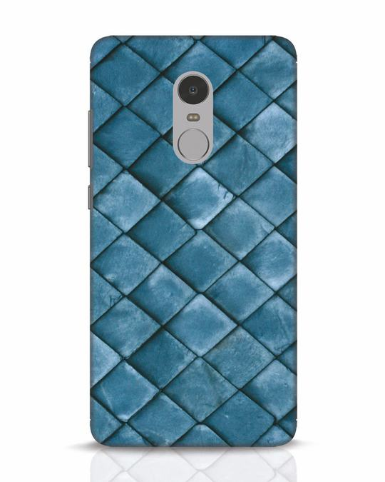 Shop Metal Scales Xiaomi Redmi Note 4 Mobile Cover-Front