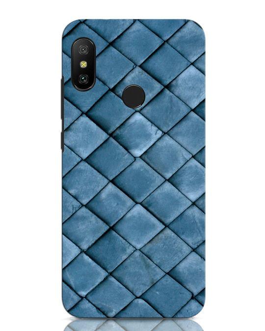 Shop Metal Scales Xiaomi Redmi Note 6 Pro Mobile Cover-Front