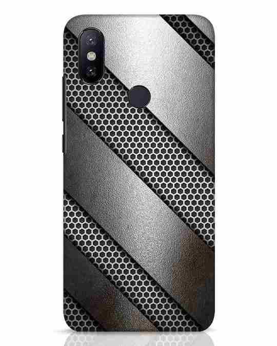 Shop Metal Xiaomi Mi A2 Mobile Cover-Front