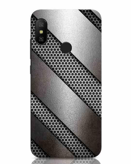 Shop Metal Xiaomi Redmi Note 6 Pro Mobile Cover-Front