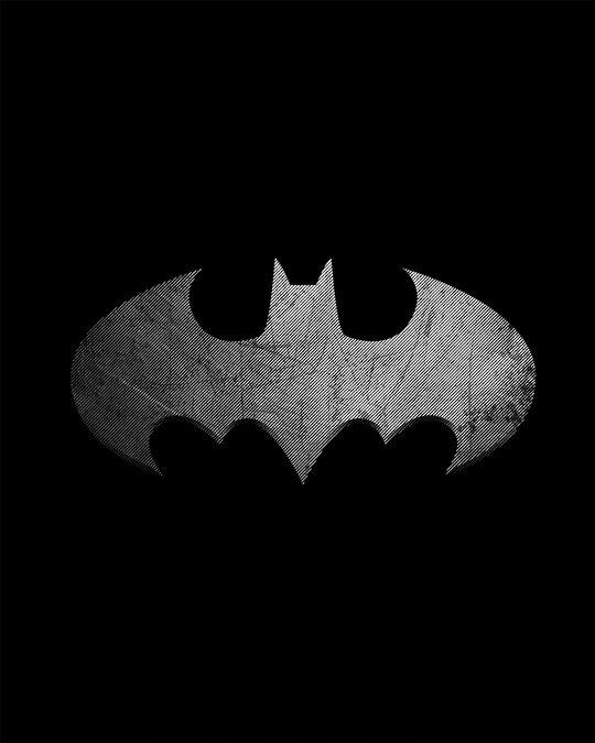 Shop Metallic Batman Glow In Dark Full Sleeve T-Shirt (BML) -Full