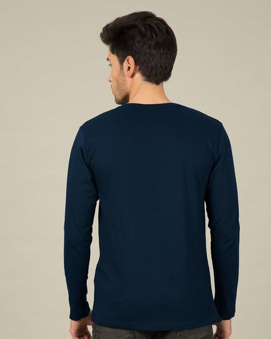 Shop Metallic Batman Glow In Dark Full Sleeve T-Shirt (BML) -Back