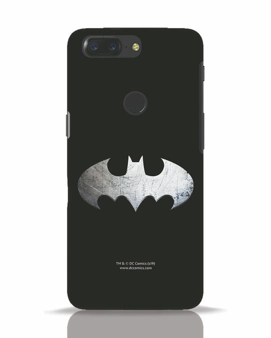 Shop Metallic Batman OnePlus 5T Mobile Cover (BML)-Front