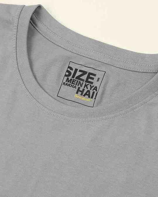 Shop Meteor Grey Boyfriend Plus Size T-Shirt