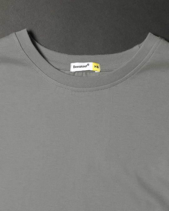 Shop Meteor Grey Boyfriend T-Shirt