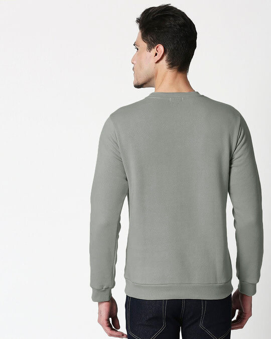 Shop Meteor Grey Fleece Sweater-Design