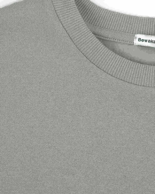 Shop Meteor Grey Fleece Sweater