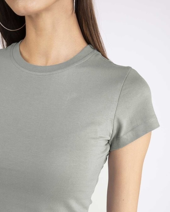 Shop Meteor Grey Half Sleeve T-Shirt