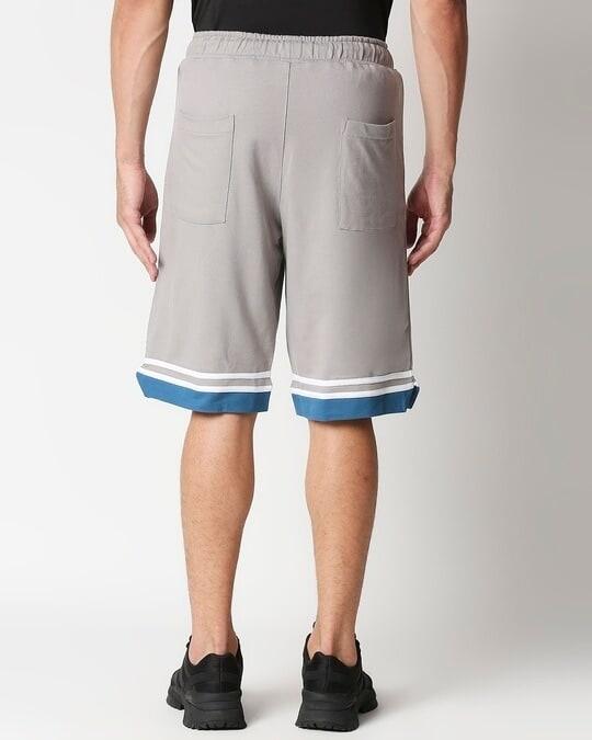 Shop Meteor Grey Men's Varsity Shorts-Full
