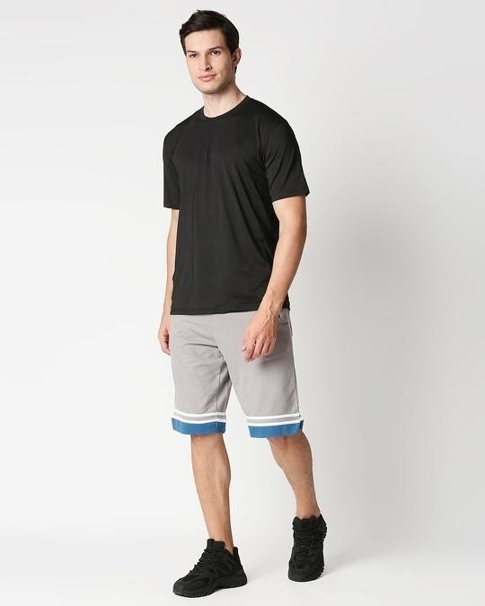 Shop Meteor Grey Men's Varsity Shorts