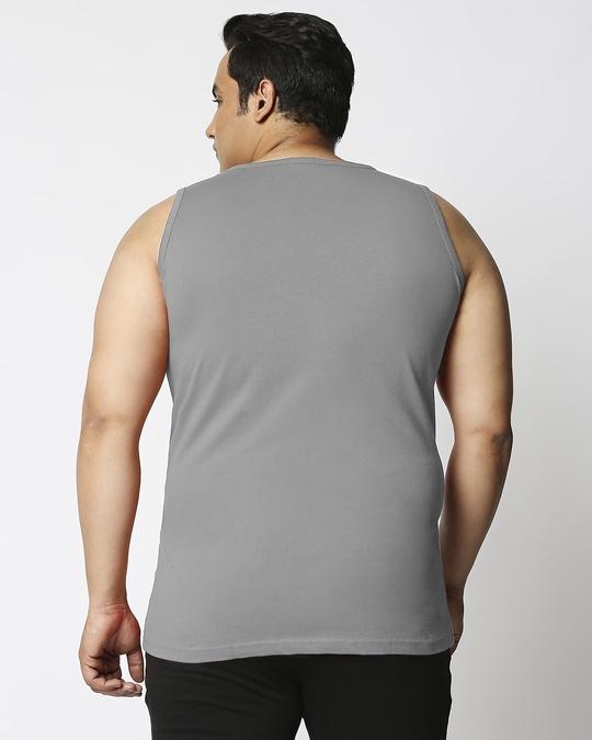 Shop Meteor Grey Plus Size Vest-Design