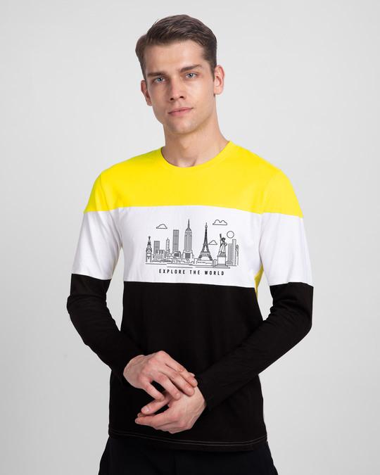 Shop Metropolitian Explore Color Block T-Shirt-Front