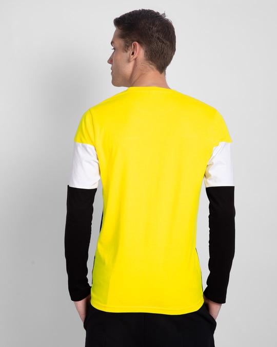 Shop Metropolitian Explore Color Block T-Shirt-Back