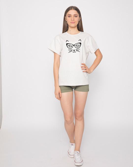 Shop Mew Mew-cat Boyfriend T-Shirt-Full