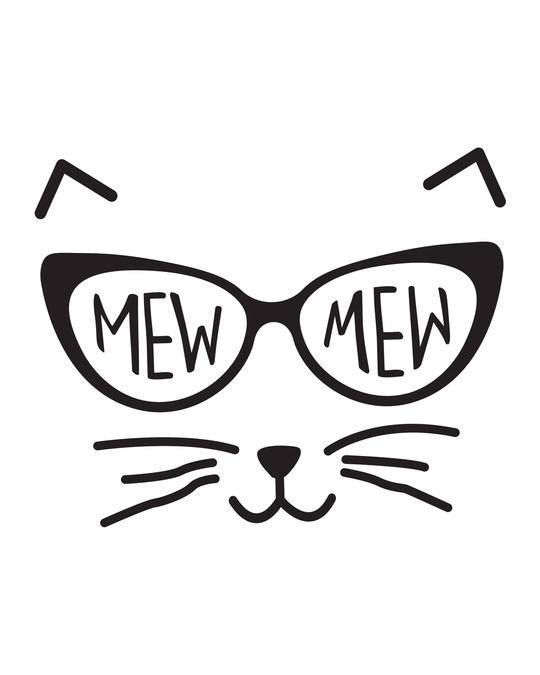 Shop Mew Mew-cat Boyfriend T-Shirt