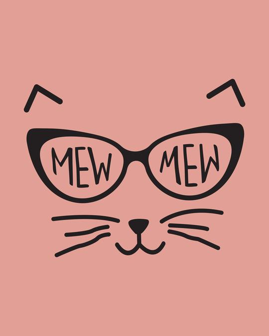 Shop Mew Mew-cat Fleece Light Sweatshirt-Full