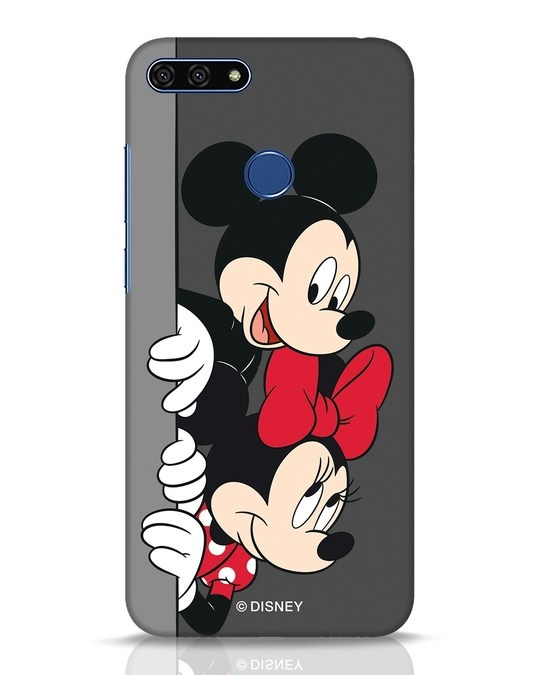 Shop Mickey And Minnie Huawei Honor 7A Mobile Cover-Front