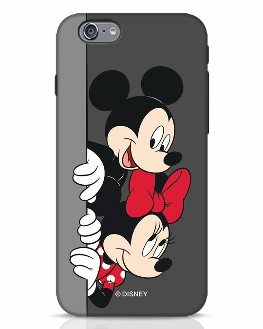 Shop Mickey And Minnie iPhone 6s Mobile Cover-Front