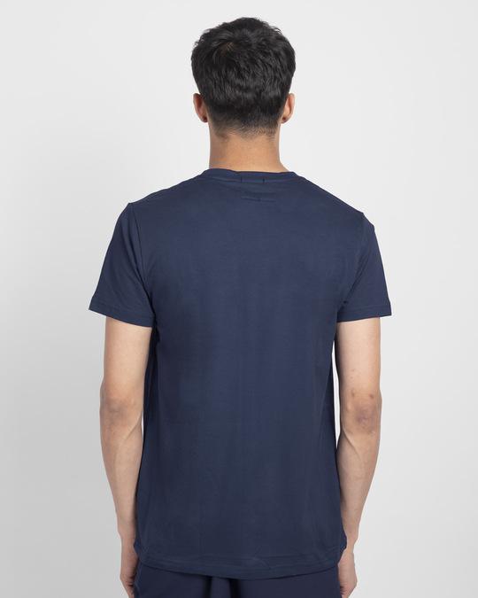 Shop Mickey Blocks Half Sleeve T-Shirt (DL)-Back