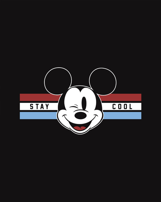 Shop Mickey Cool Half Sleeve T-Shirt (DL)