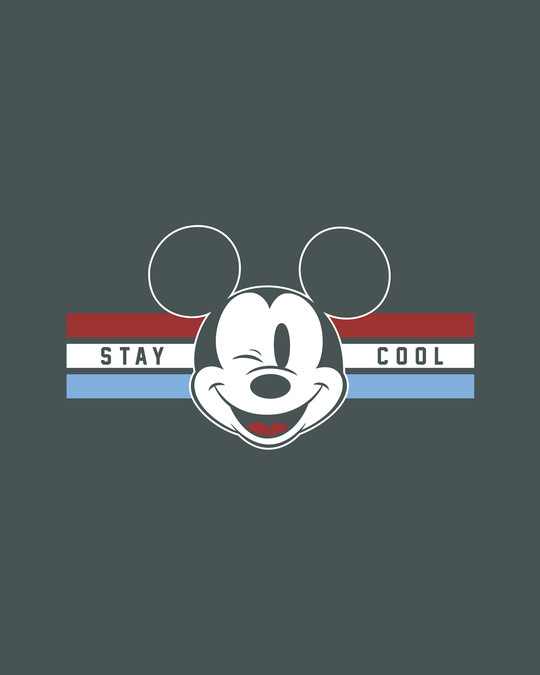 Shop Mickey Cool Half Sleeve T-shirt (DL)-Full