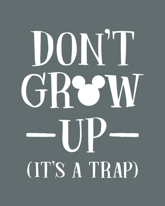 Shop Mickey Don't Grow Up Vest (DL)-Full