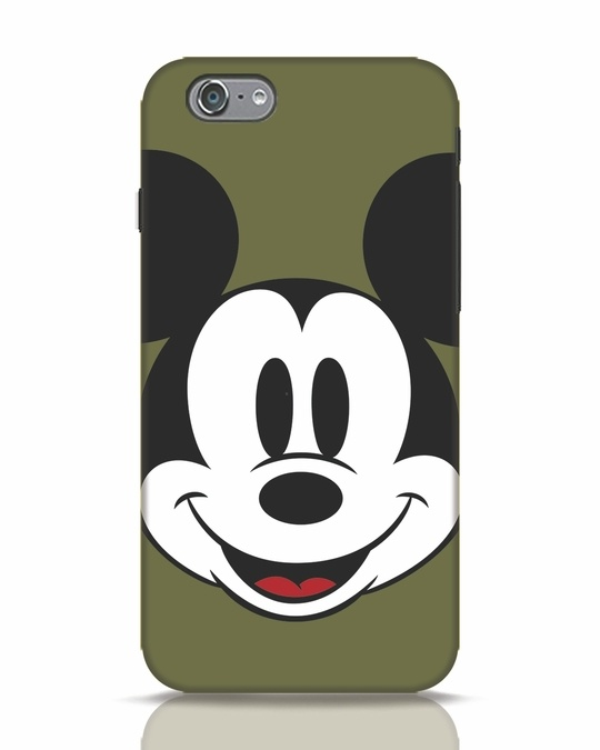 Shop Mickey Face iPhone 6 Mobile Cover-Front