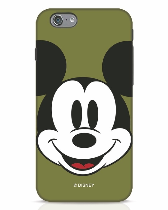Shop Mickey Face iPhone 6s Mobile Cover-Front
