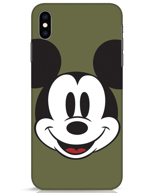 Shop Mickey Face iPhone XS Max Mobile Cover-Front