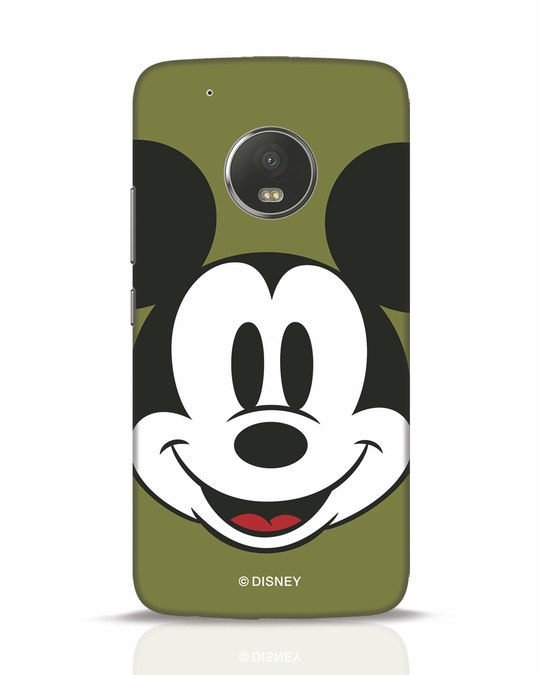 Shop Mickey Face Moto G5 Plus Mobile Cover-Front