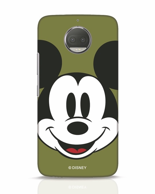 Shop Mickey Face Moto G5s Plus Mobile Cover-Front