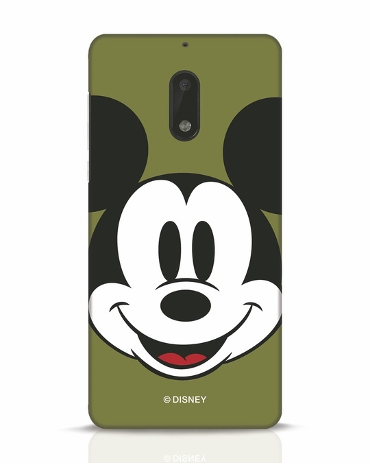 Shop Mickey Face Nokia 6 Mobile Cover-Front