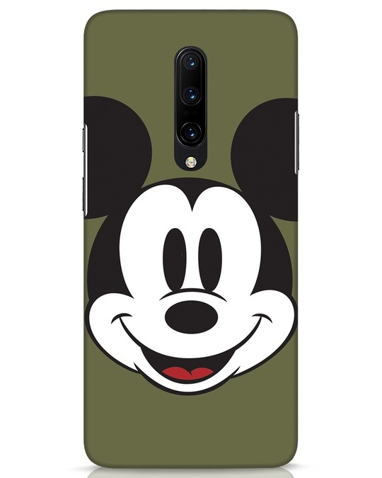 Shop Mickey Face OnePlus 7 Pro Mobile Cover-Front