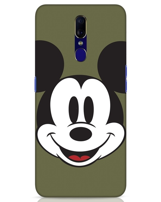Shop Mickey Face Oppo F11 Mobile Cover-Front