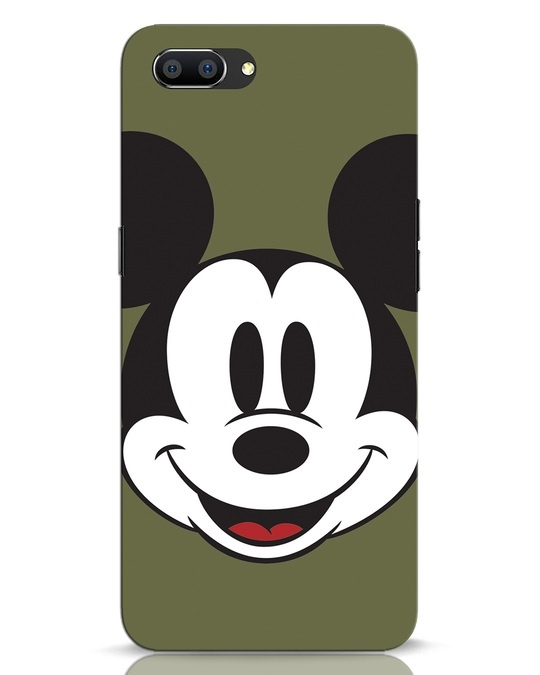 Shop Mickey Face Realme C1 Mobile Cover-Front