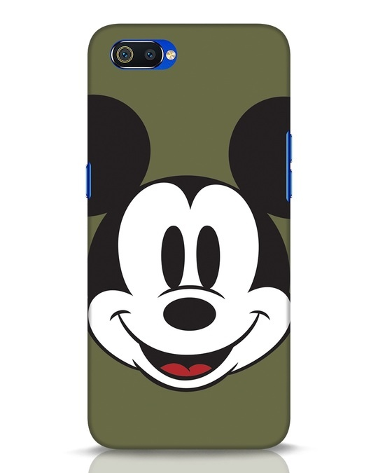 Shop Mickey Face Realme C2 Mobile Cover-Front