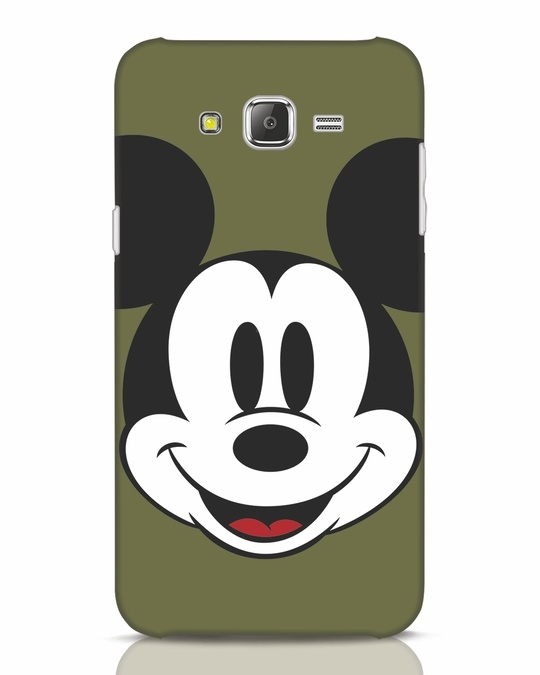 Shop Mickey Face Samsung Galaxy J7 Mobile Cover-Front