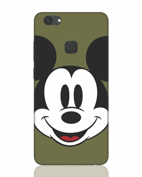 Shop Mickey Face Vivo V7 Plus Mobile Cover-Front