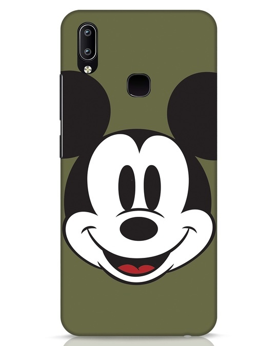 Shop Mickey Face Vivo Y91 Mobile Cover-Front