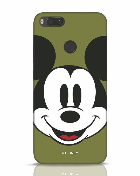 Shop Mickey Face Xiaomi Mi A1 Mobile Cover-Front