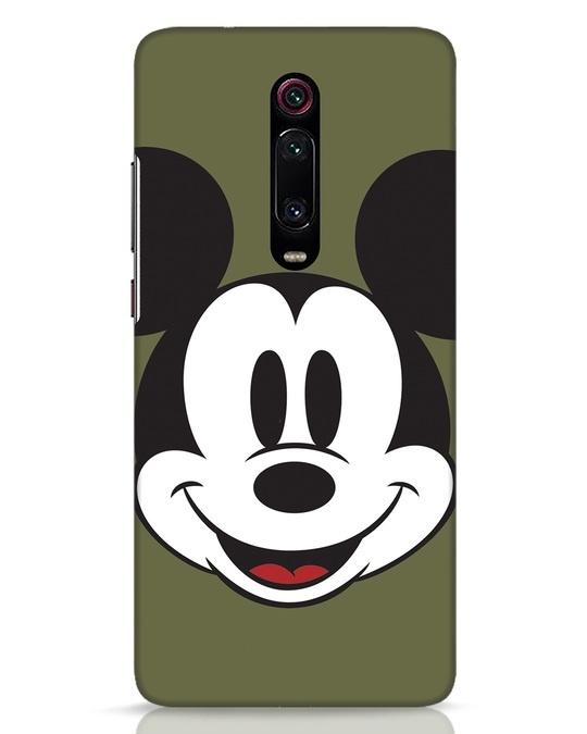 Shop Mickey Face Xiaomi Redmi K20 Pro Mobile Cover-Front