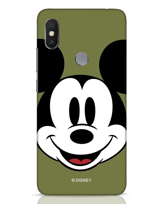 Shop Mickey Face Xiaomi Redmi Y2 Mobile Cover-Front