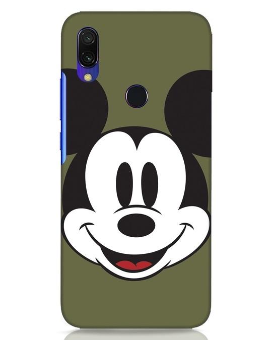 Shop Mickey Face Xiaomi Redmi Y3 Mobile Cover-Front