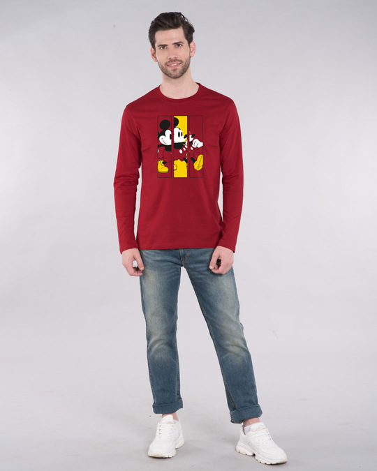 Shop Mickey Frames Full Sleeve T-Shirt (DL)-Design