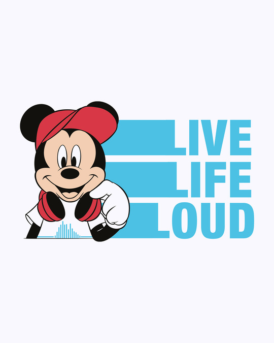 Shop Mickey Loud  Full Sleeve T-Shirt (DL)-Full